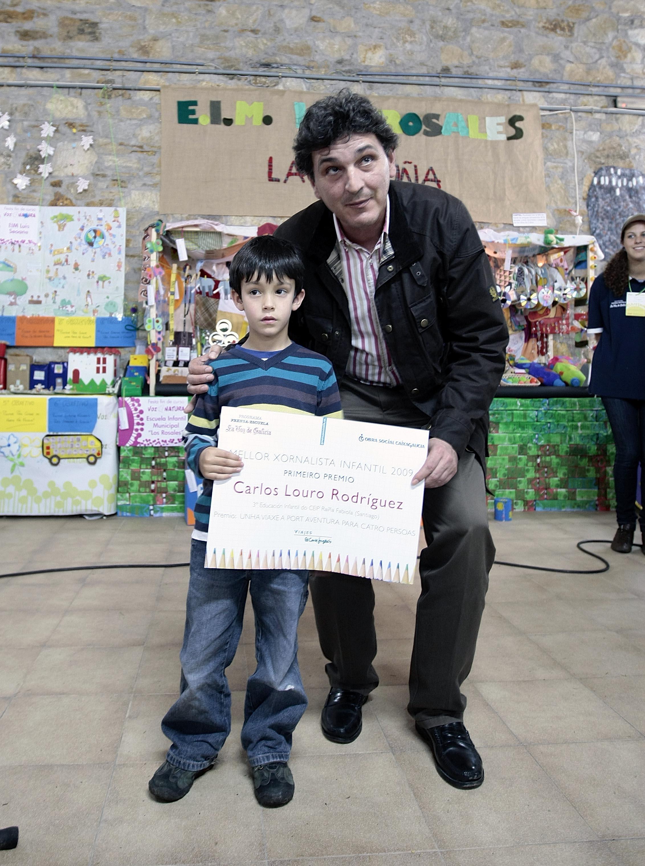 Prensa-Escuela reparte sus premios del curso en la fiesta Voz Natura