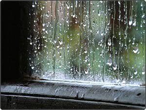¿Cuántas gotas caen al llover?