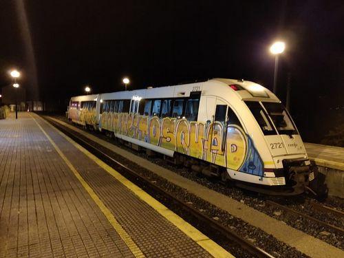 Caen dos grafiteros itinerantes que dañaron trenes por casi 900.000 euros Hicieron pintadas en Lugo y Ourense y en otras once ciudades españolas. La Policía Nacional les atribuye 209 delitos