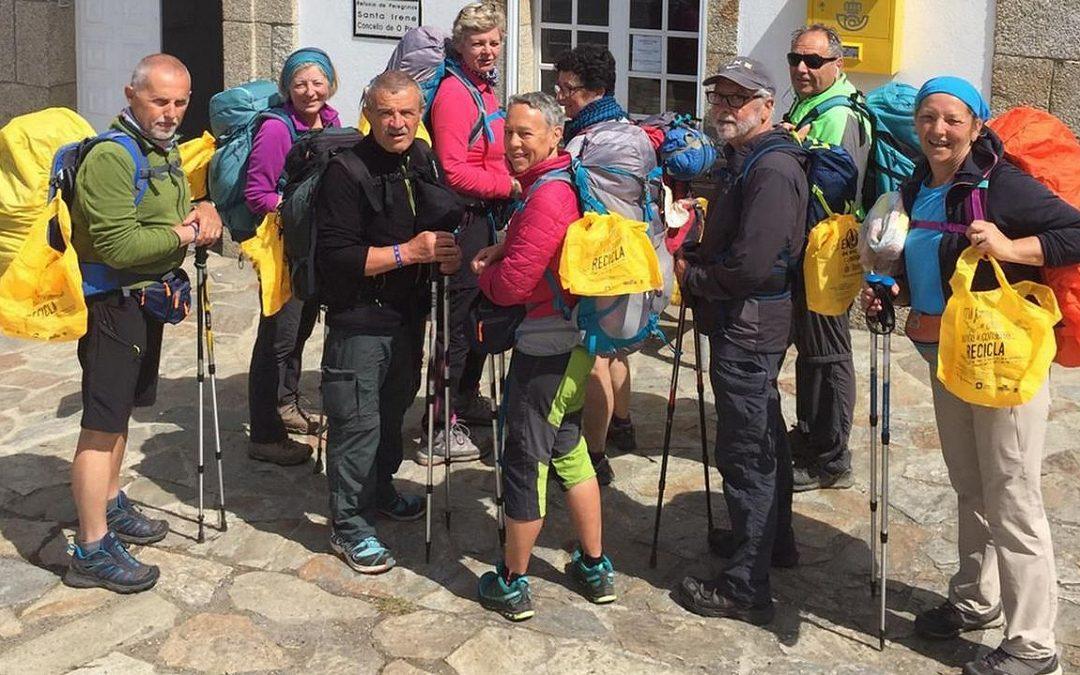 Más de 220 albergues gallegos se unen a la campaña Camino del Reciclaje, que incorpora la ruta inglesa