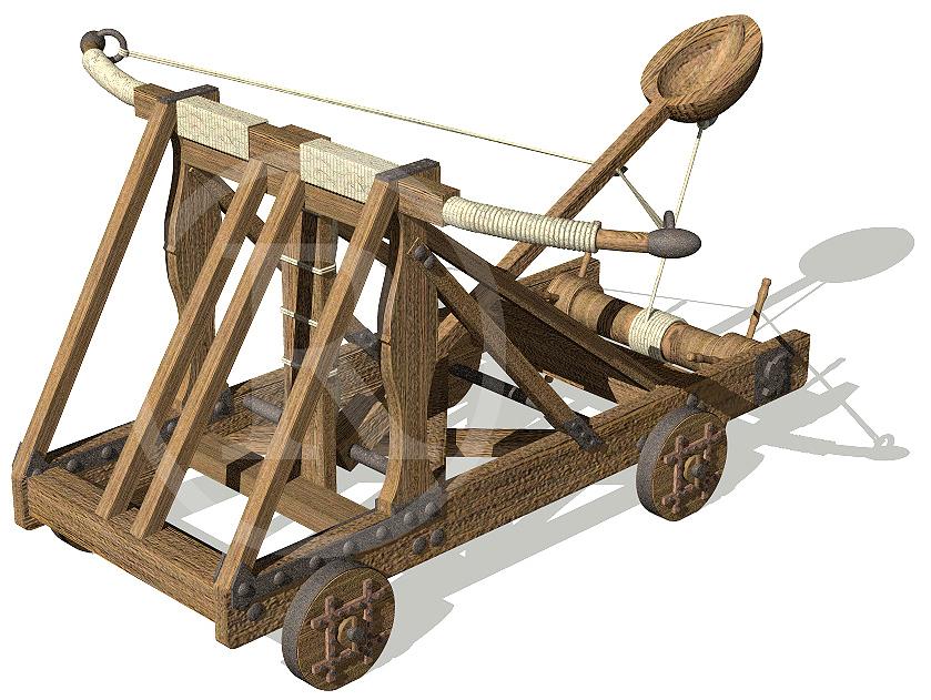 ¿Por que deixaron de existir as catapultas? Robel, 11 anos
