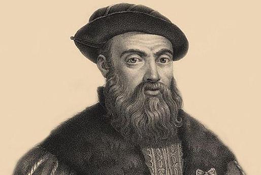 A primeira viaxe ao redor da Terra iniciárona cinco barcos mandados polo piloto portugués Fernando de Magallanes, en 1519