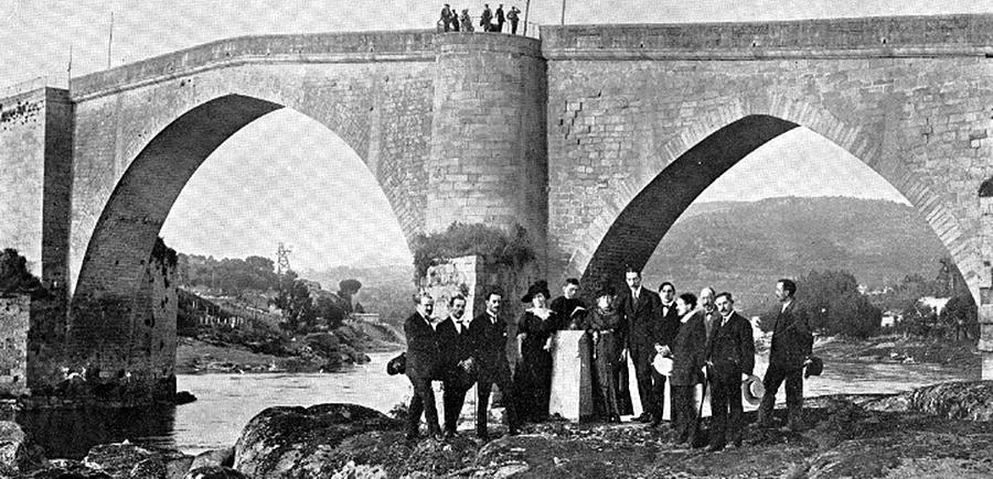 Curros Enríquez chegou dende A Habana en 1904 e recibiu a homenaxe da Coruña como poeta preferido da cidade