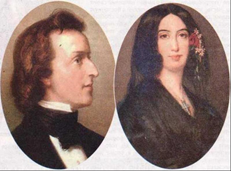 Federico Chopin y la escritora George Sand llegaron a Mallorca en 1838 para pasar una temporada de descanso