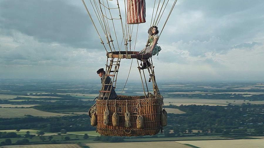 El viaje más épico de la historia de la ciencia El ascenso en globo de los británicos James Glaisher y Henry Coxwell en 1862 llega este otoño a los cines con «The Aeronauts»