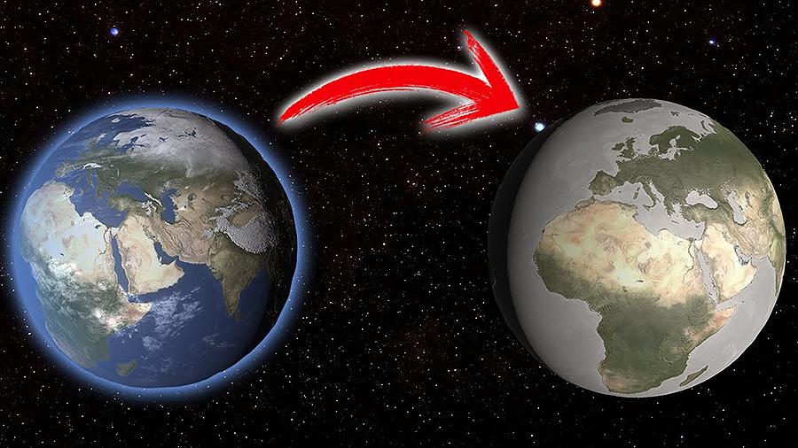 ¿Que pasará cando desapareza a atmosfera? ¿Que pasará coa humanidade cando chegue ese momento? ¿A Terra desaparecerá? Alejandra, 11 anos