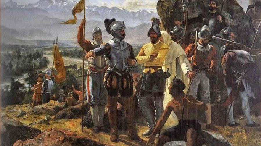Pedro de Valdivia fundó en 1541 la ciudad de Santiago de la Nueva Extremadura, que en la actualidad es la capital de Chile