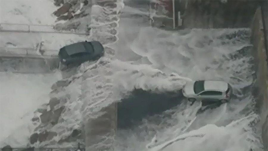 ¿Inundacións costeiras? Serán a norma O peor dos escenarios do cambio climático