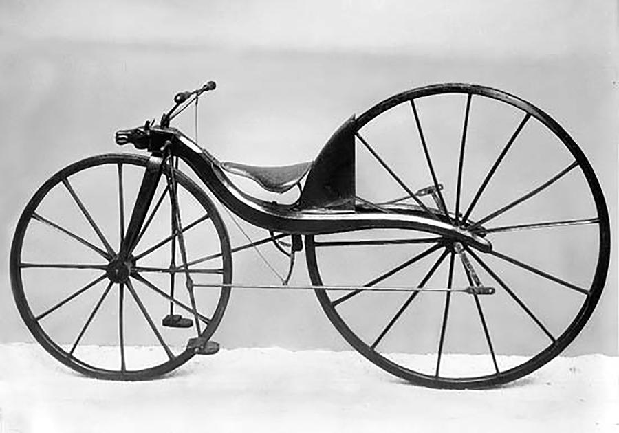 ¿Quen inventou a primeira bicicleta? Ariel, 11 anos