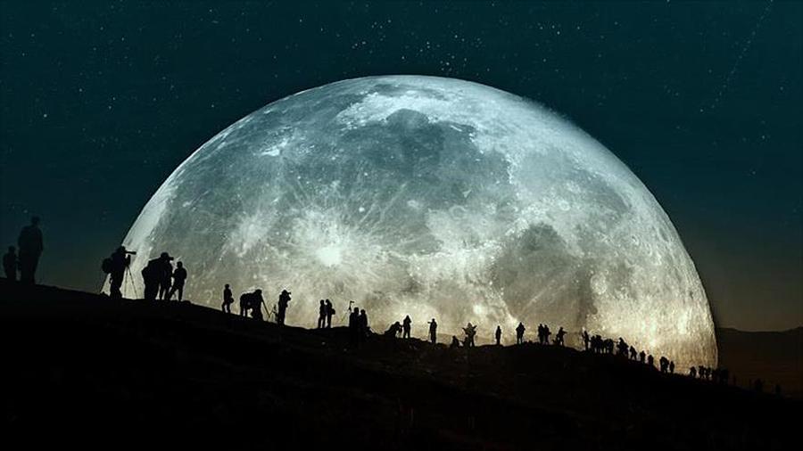Nos preguntamos, si la Luna hubiera desaparecido ¿podríamos vivir? Clase de 4º de Ed. Primaria, 9 años
