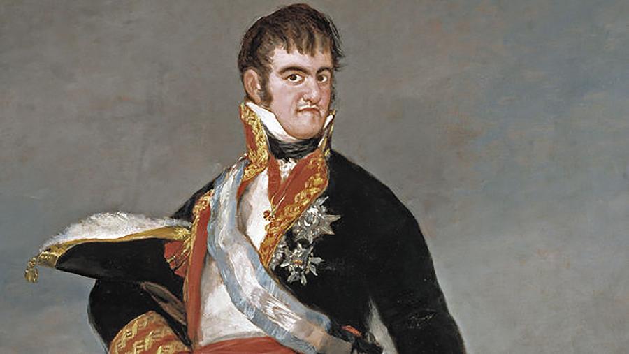 A noticia fai dous séculos foi que o rei Fernando VII xuraba a Constitución obrigado por un levantamento popular