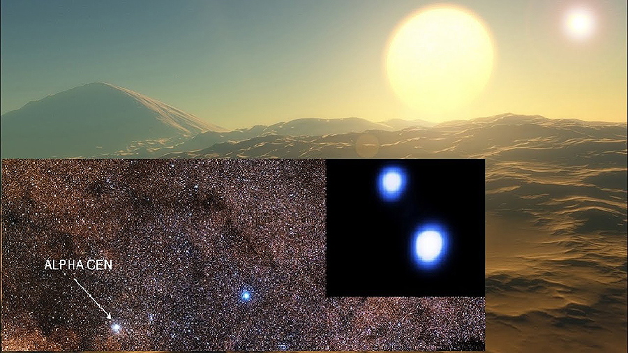 ¿Hai vida en Alfa Centauri? Francisco, 11 anos