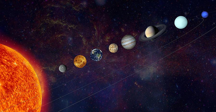 ¿É certo que os días da semana se chaman así polos planetas? Antía, 11 anos