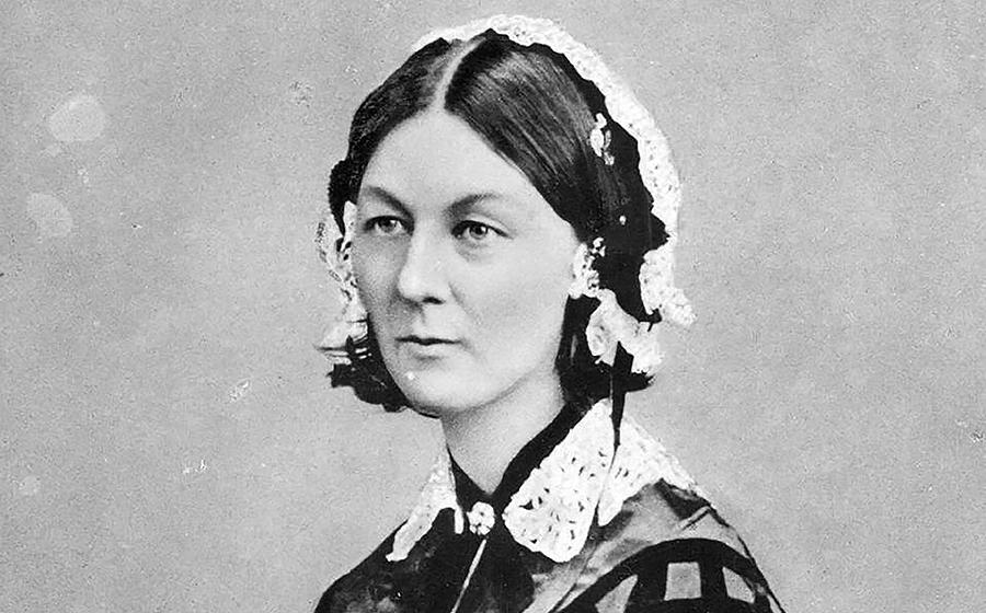 Florence Nightingale, la creadora de la enfermería moderna, nació en 1820 en la ciudad italiana de Florencia