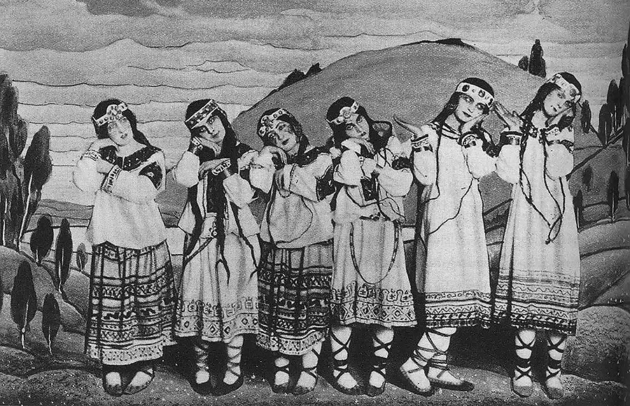 """En 1913 estreouse en París o ballet de Igor Stravinsky """"Consagración da primavera"""", e foi un escándalo en toda regra"""