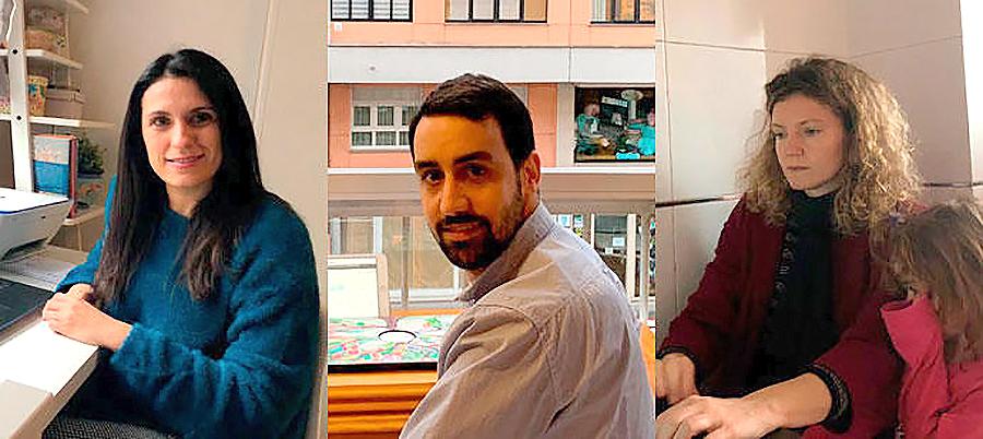 AULAS CASERAS 4 Los profesores