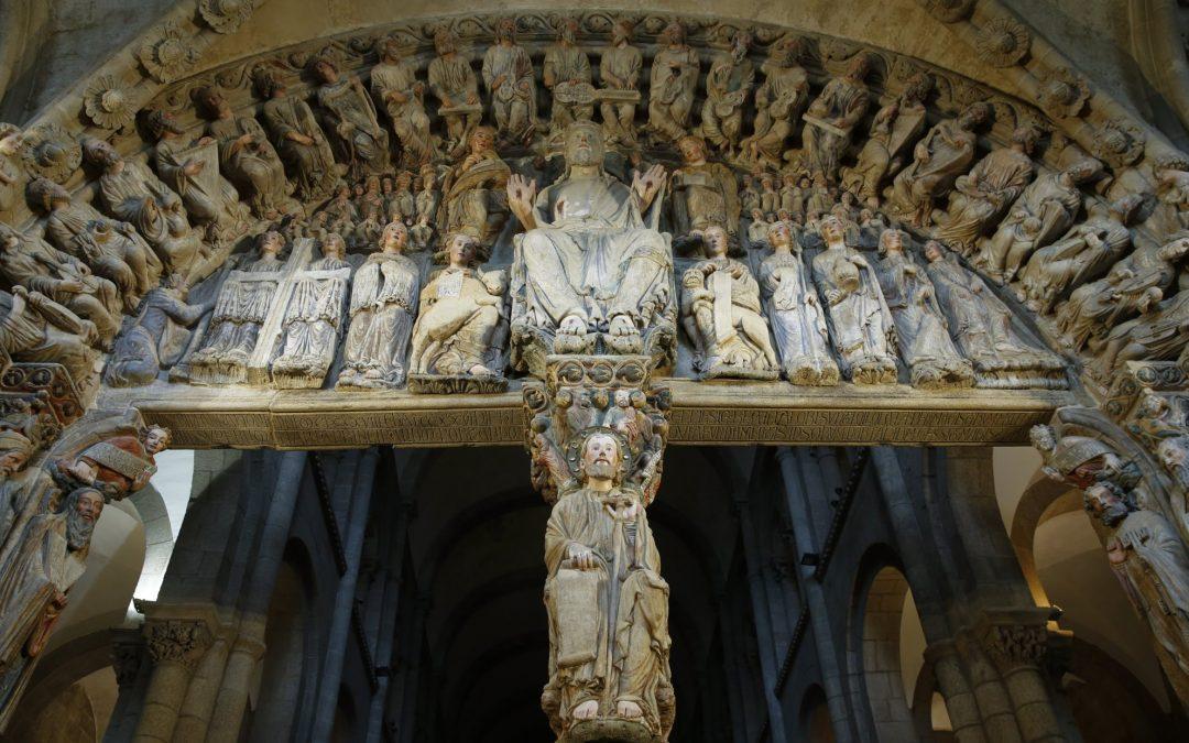 O Pórtico da Gloria, no teu móbil A Fundación Barrié pón na túa mán cun detalle nunca antes visto a escultura máis importante do románico español
