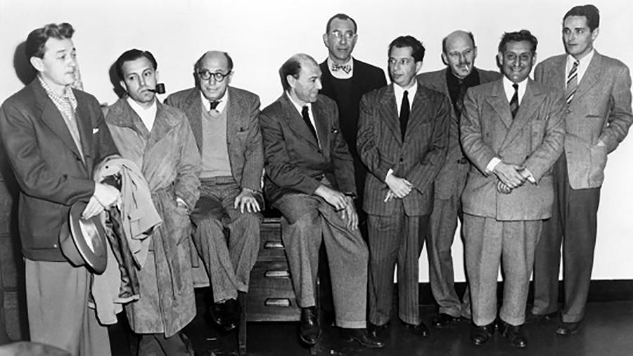 La industria cinematográfica norteamericana decidió en 1947 retirar la licencia a diez profesionales por sus ideas izquierdistas