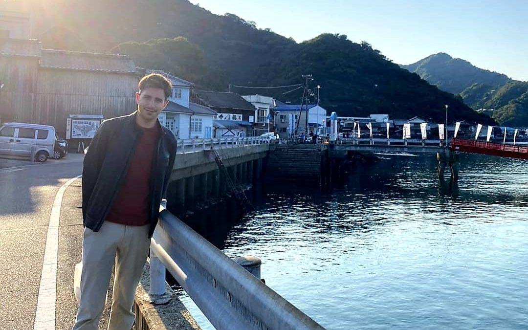 «En Japón no hay selectividad, hacen prueba de acceso en cada universidad» Dámaso Ferreiro Posse, docente de Literatura Japonesa en la Universidad de Hiroshima