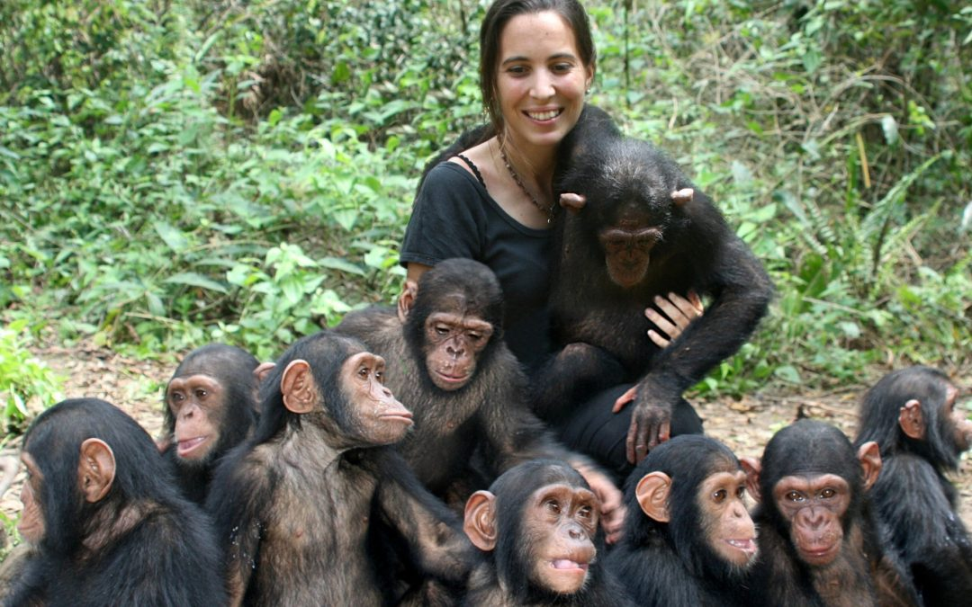 Rebeca Atencia, a Jane Goodall galega Esta veterinaria ferrolá participa no programa Girl STEM