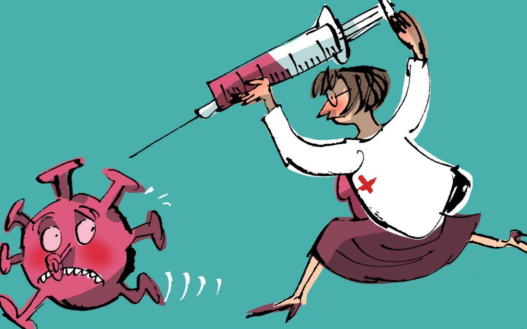 Así funcionan as vacinas Vacinarnos pode axudar ao noso corpo a vencer as doenzas derivadas da infección dos virus