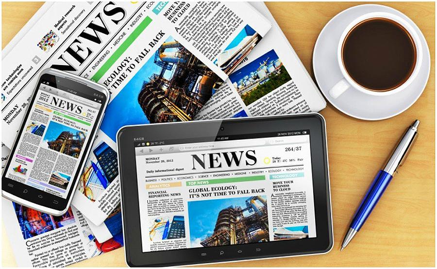 ¿Cuando ya no se hagan periódicos de papel te harás periodista de internet? María