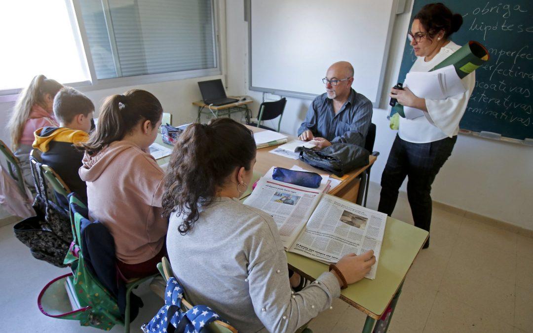 Unha reportaxe na clase de galego para falar da historia de Portas, Galicia e España Unha investigación sobre as ruínas dunha fábrica leva aos rapaces á perda de Cuba