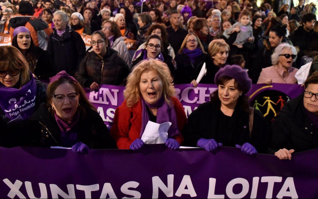 Tres años del despertar de las mujeres Ellas protagonizaron una huelga histórica en el 2018 prendiendo  la llama para el movimiento 8M a favor de la igualdad de derechos