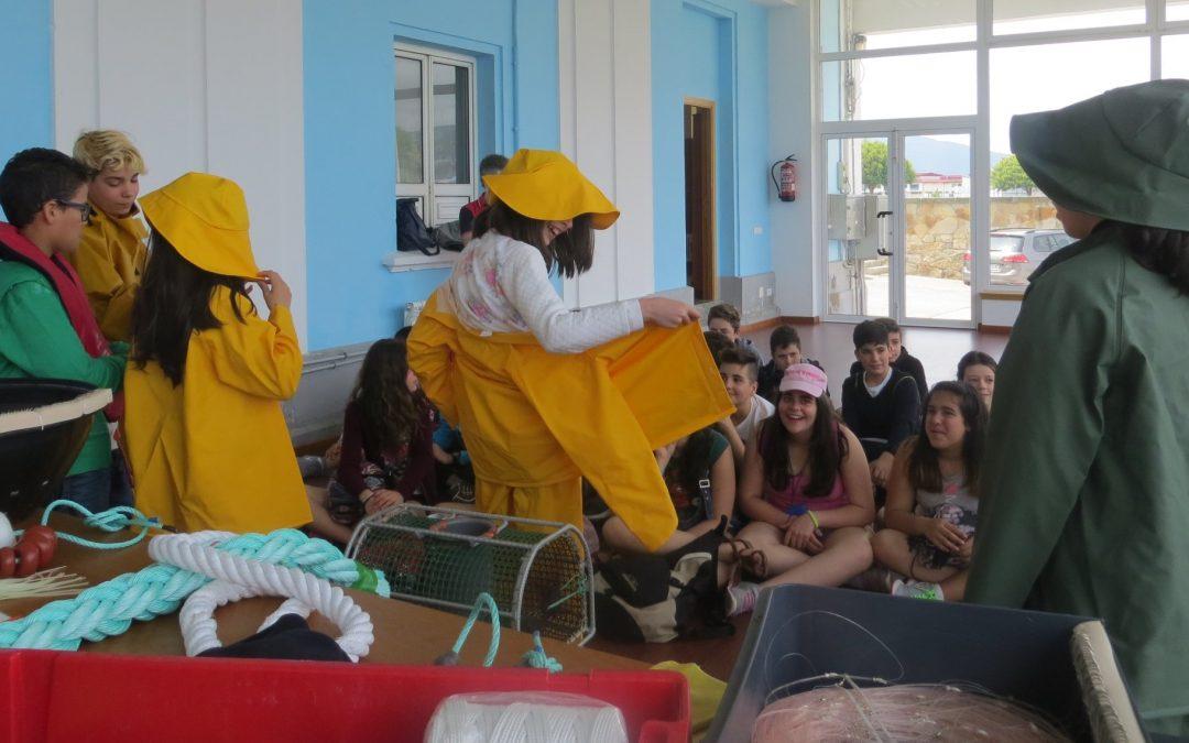 A Confraría de Celeiro habilita unha web para as visitas virtuais dos rapaces Permite percorrer a lonxa, coñecer a taller do pescador e ata «subir» ao helicóptero de rescate Pesca II