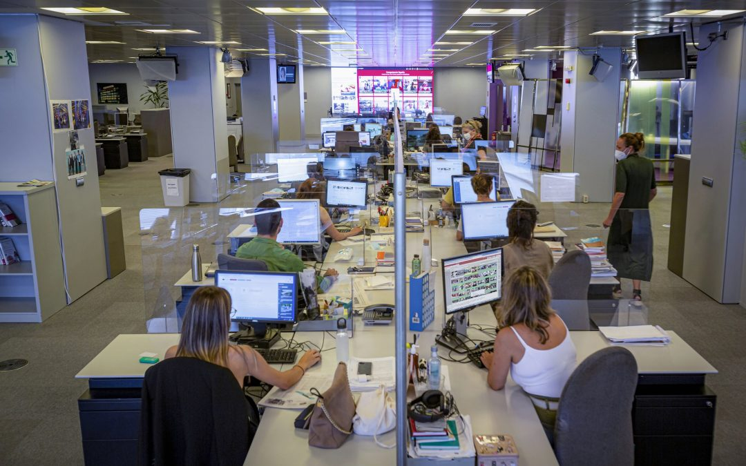 ¿Cuánto tiempo es necesario para escribir una buena noticia? Aula de 5.º B del CEIP José María Lage, Ortigueira