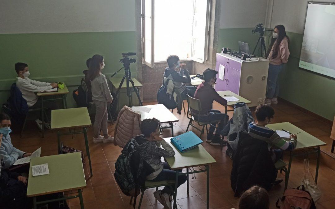 El IES Rosalía de Castro, de Santiago, gana la segunda fase de Periodismo en la Escuela